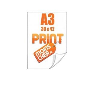 Affiche couleur 30x42 cm (A3)