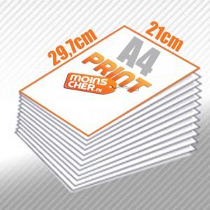 Flyer couleur 21x29,7 cm - A4 pas cher