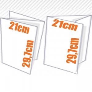 Plaquette - Depliant couleur 3 volets 21x30 cm