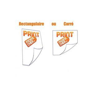 Stickers couleur 5,2cm x 7,4cm Ou Stickers Carré 5,2cm x 5,2cm