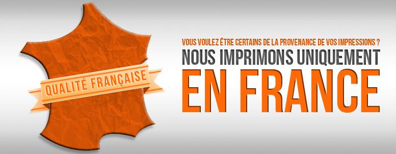 Impression en France